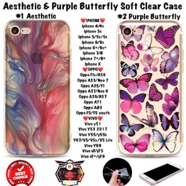 Aesthetic OPPO Case F1s A33 A37 A71 A83 A57 A35 F1 F5 iphone | Shopee Philippines