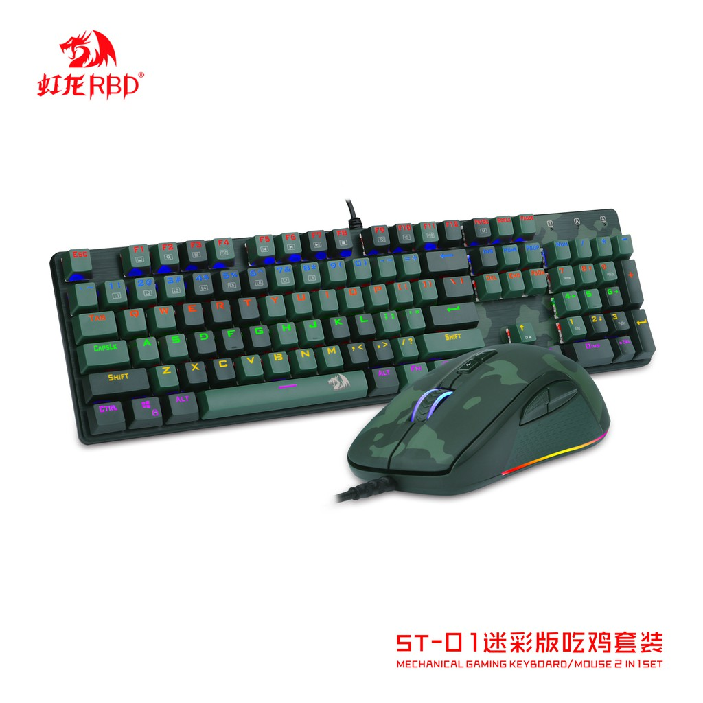 4bd55abfb4a Redragon S102 YAKSA & NEMEANLION USB Gaming Keyboard & Mouse | Shopee  Philippines