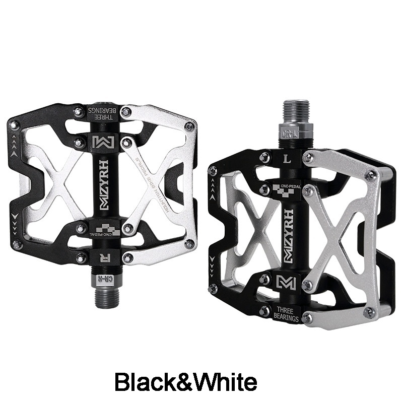 MZYRH Mountain Bike Pedals Ultra Strong Colorful CNC Machined 9//16 Cycling Sealed 3 Bearing Pedals