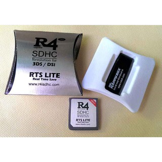 R4 GOLD PRO 2019 for DS DSi 3DS NTRBOOT 8GB / 16GB R4i | Shopee