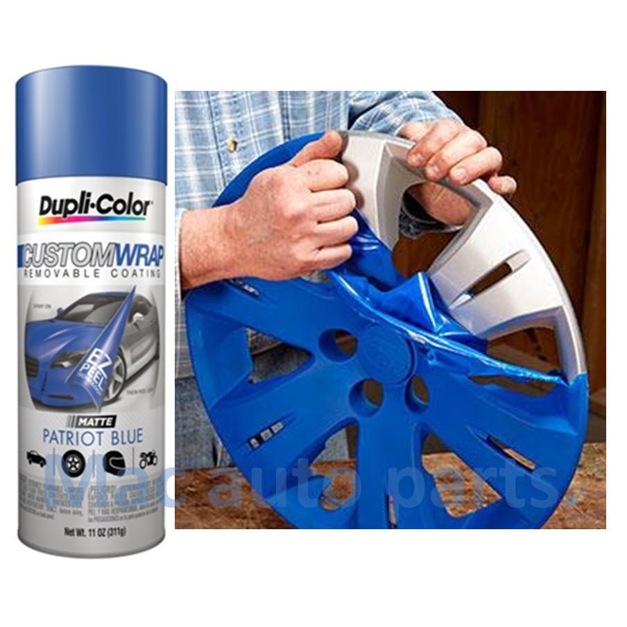 Dupli Color Custom Wrap Rubber Paint Removable Car Paint