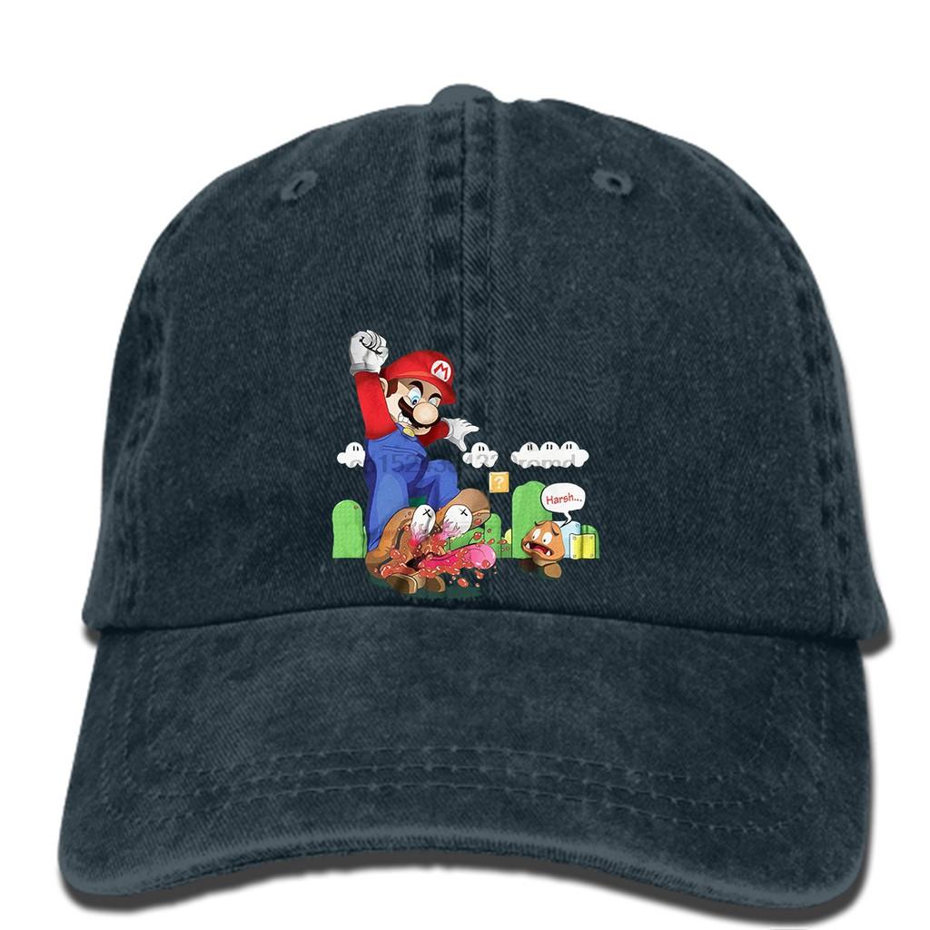 e6a0fd47b368f hat Men s Super Mario Goomba Squish Harsh