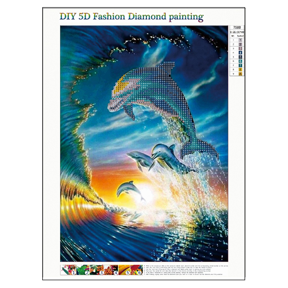 Diy Diamond Embroidery Little Girl kiss sunflower Diamond Mosaic Full Round  Square 5D Diamond Painting Cross Stitch Decoration Gift