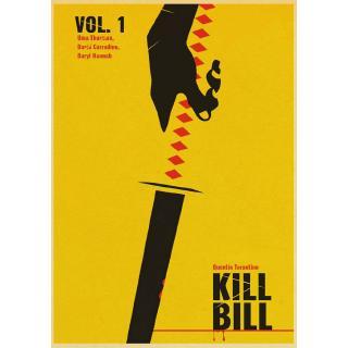 Quentin Tarantino Classic Movie Poster Kill Bill Vol 1 Retro Kraft Paper Poster Bar Cafe Living Room Wall Decorative Shopee Philippines