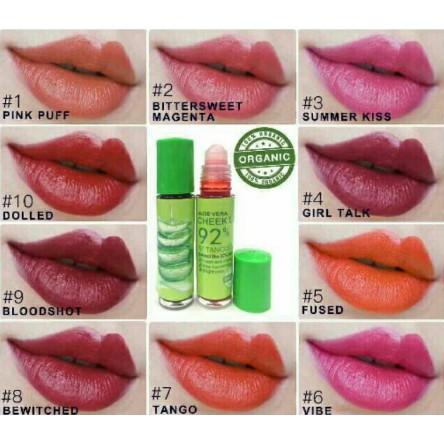 Mcneil New Organic 92% Aloe Vera Chick Lip