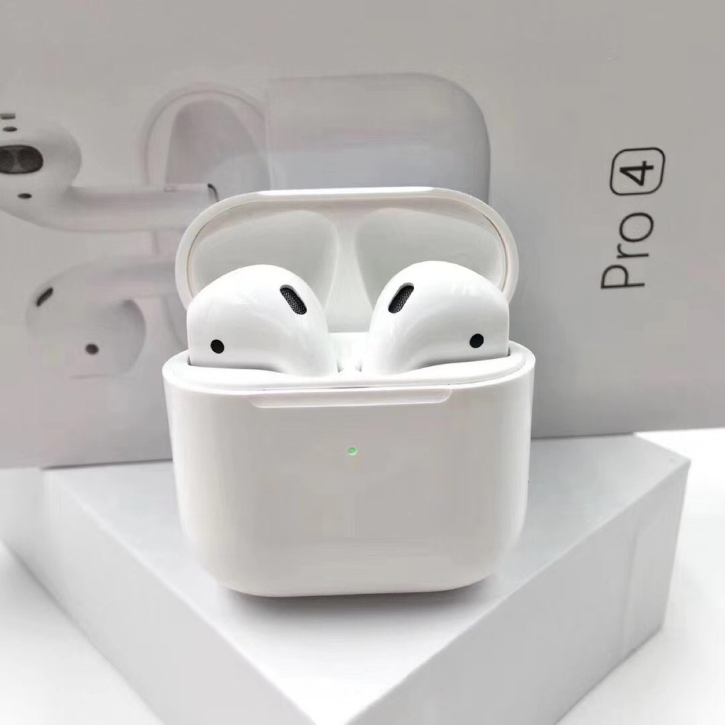 [Spot] 2020 new Airpods Pro 4 wireless bluetooth headset mini earbuds are  renamed with wireless charging function, Rename GPS Support IOS And Android
