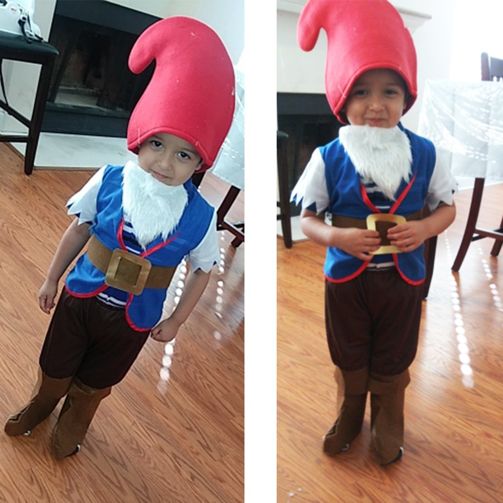 Details about  /Elf  Toddler  Halloween  Costume  Boys Dwarf Cosplay Children Carnival Christmas