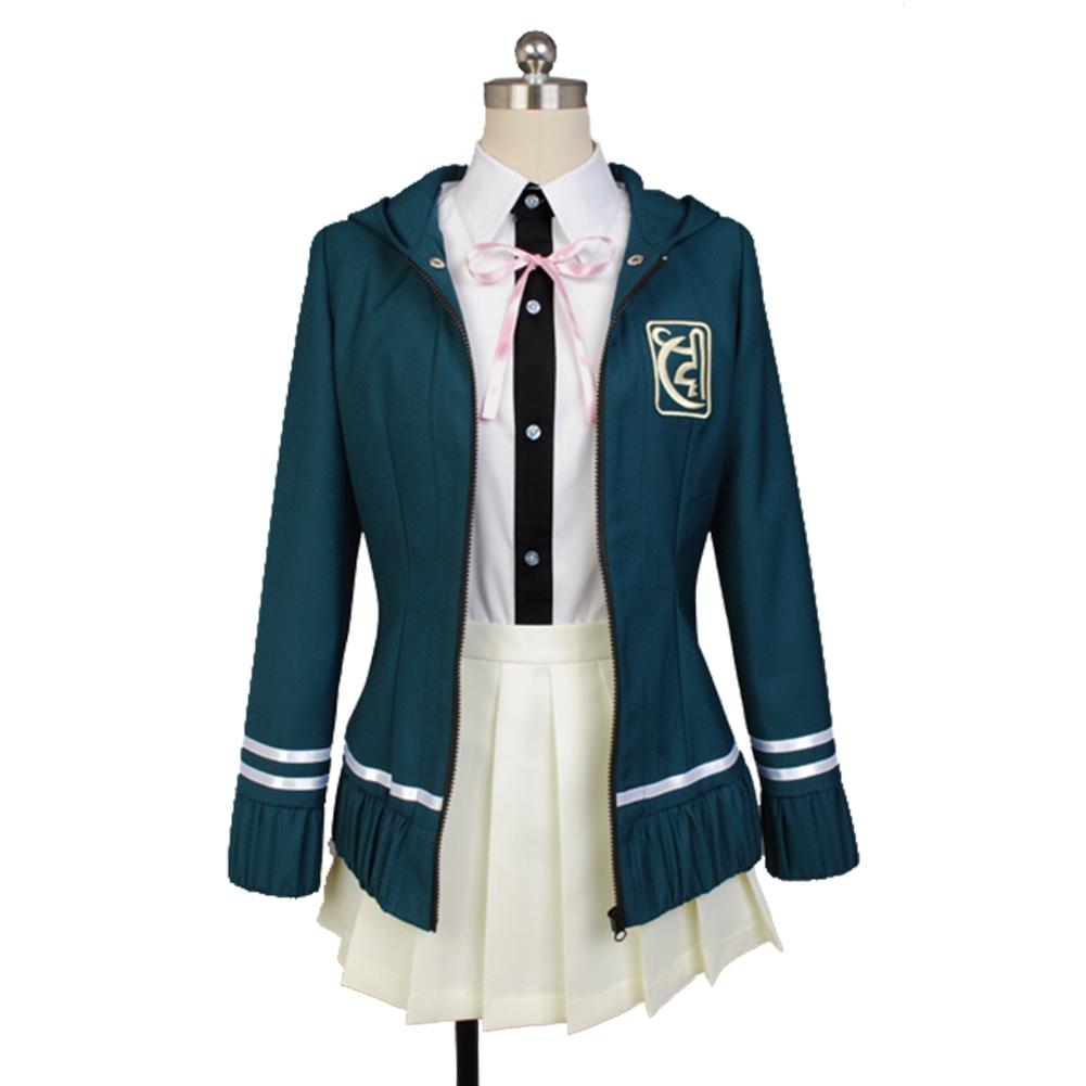 Anime Nanami ChiaKi Cosplay Costume Uniforms Women Skirt Jacket Full Sets