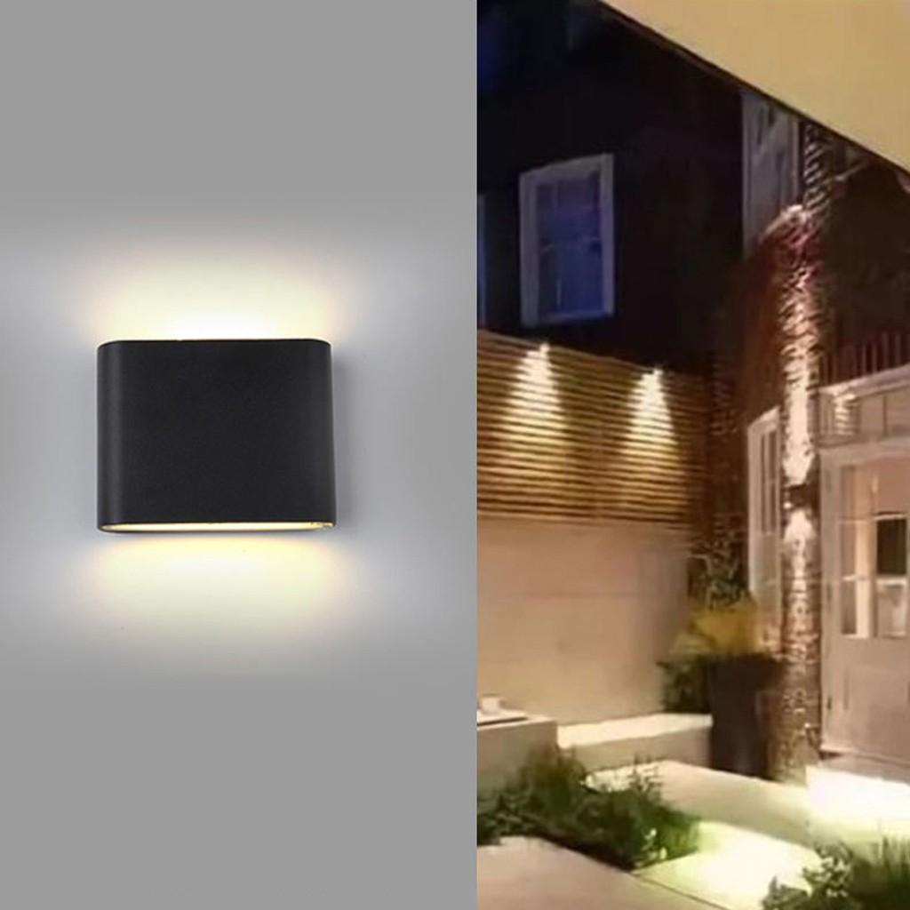 Wall Light Led Indoor Outdoor Aluminium Wall Lighting Waterproof Wall Wash Light Shopee Philippines