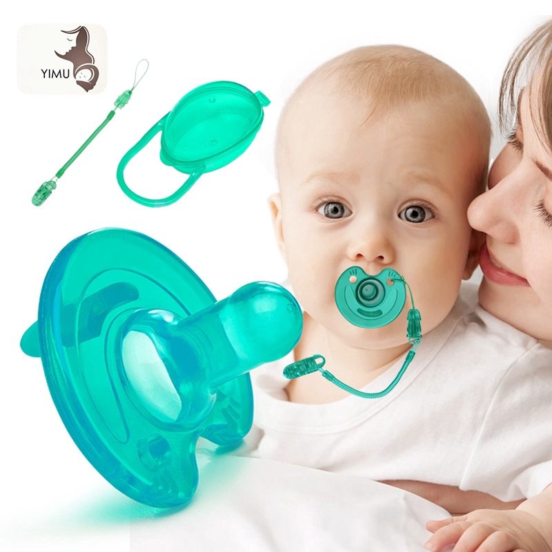 3Pcs/set Baby Pacifier Silicone Nipple Feeding Accessories