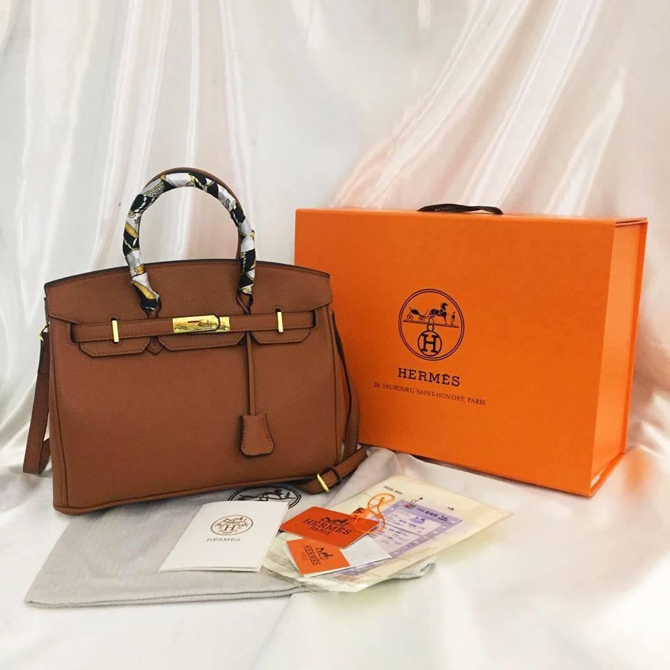 7dd06e762f81 Hermes Birkin Leather With Studs HandBags