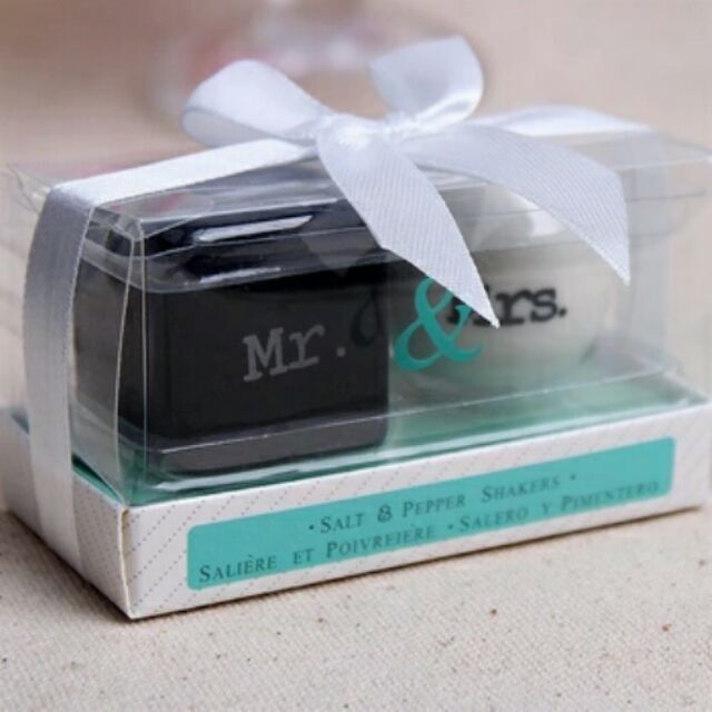 100 Pcs 50 Pairs Salt And Pepper Shakers Wedding Giveaways