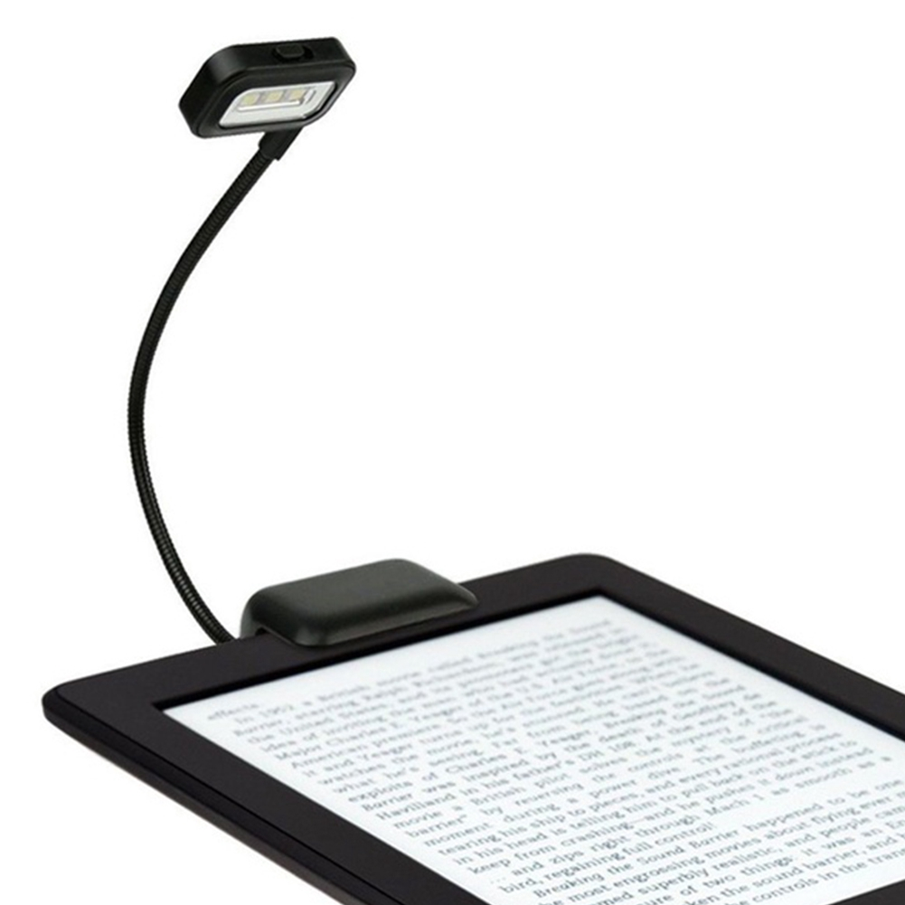 Mini Table Led Clip On Adjustable Book Night Bright Reading Ordinary Light Lamp