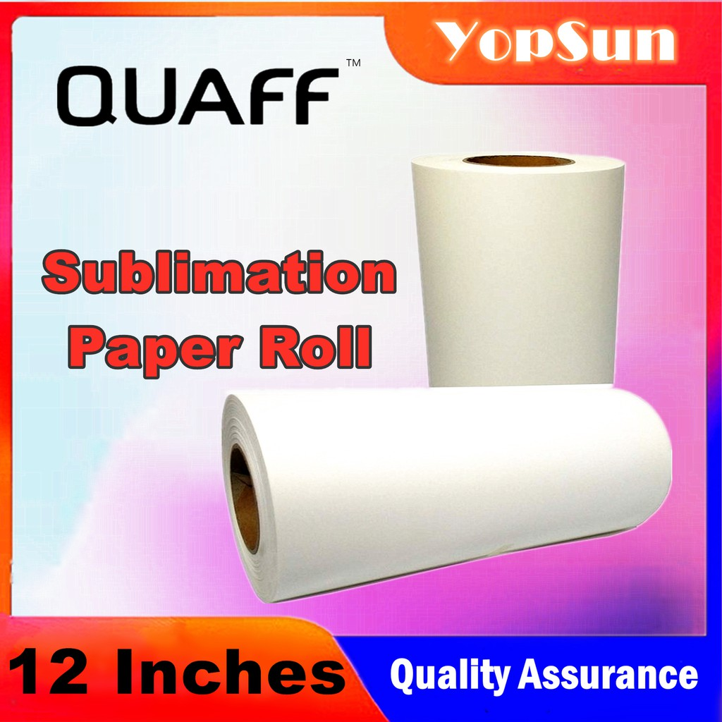 Sublimation Paper Roll 12inch 100m