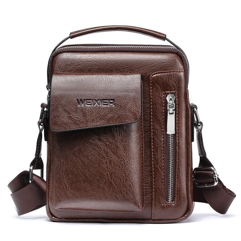 Leather Man Shoulder Sling Bags