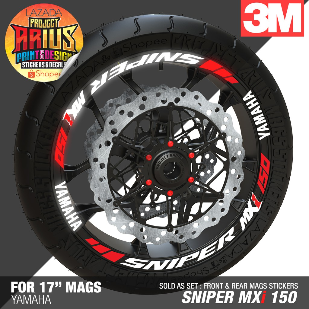 Motorcycle decals sticker kit xrm 125 modified shopee philippines