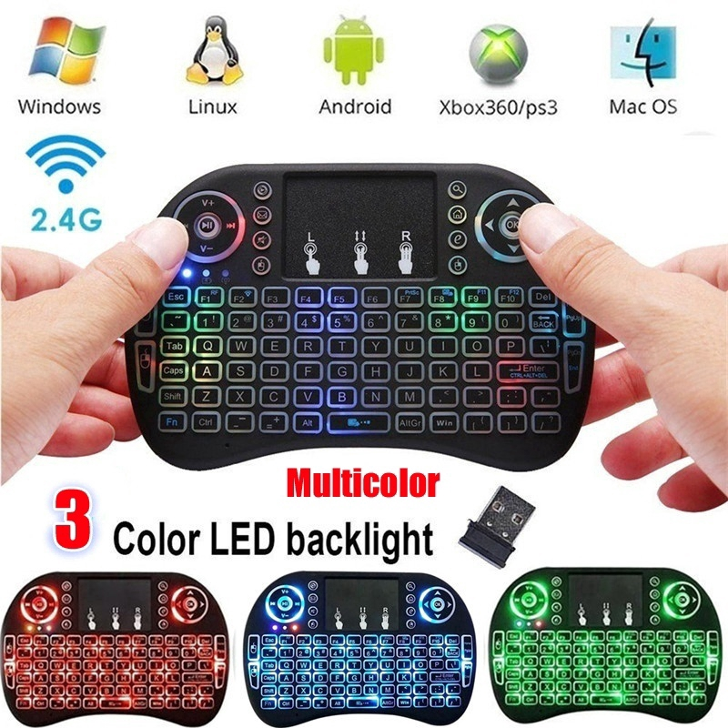 HOT Mini Wireless Keyboard Mouse Keypad with Touchpad