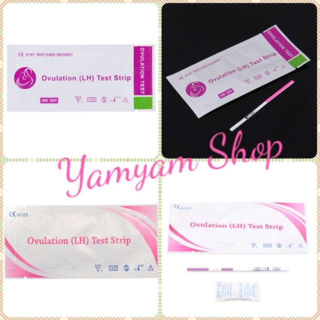 Ovulation Test Strip 10 pcs with FREE 1 pregancy test strip
