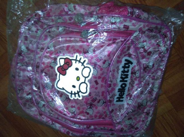 Hello Kitty Backpack Bag Student Backpack
