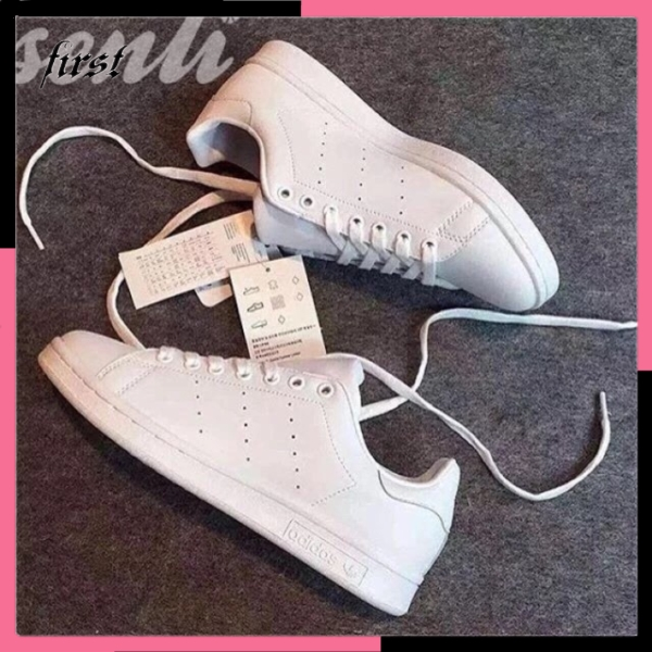 Adidas stan smith fashion couple shoes sneakers white shoes