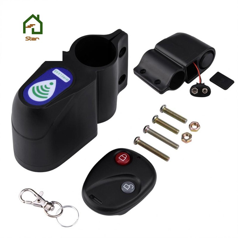 Bicycle Rain-proof Password Alarm Anti-theft Electronic Lock Mountain Bike