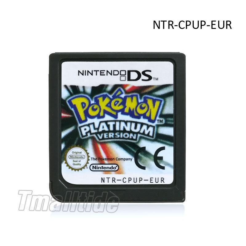 Pokemon platinum русская версия
