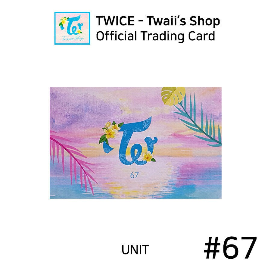 TWICE - Official Twaii's Group Shot Trading Card Photocards