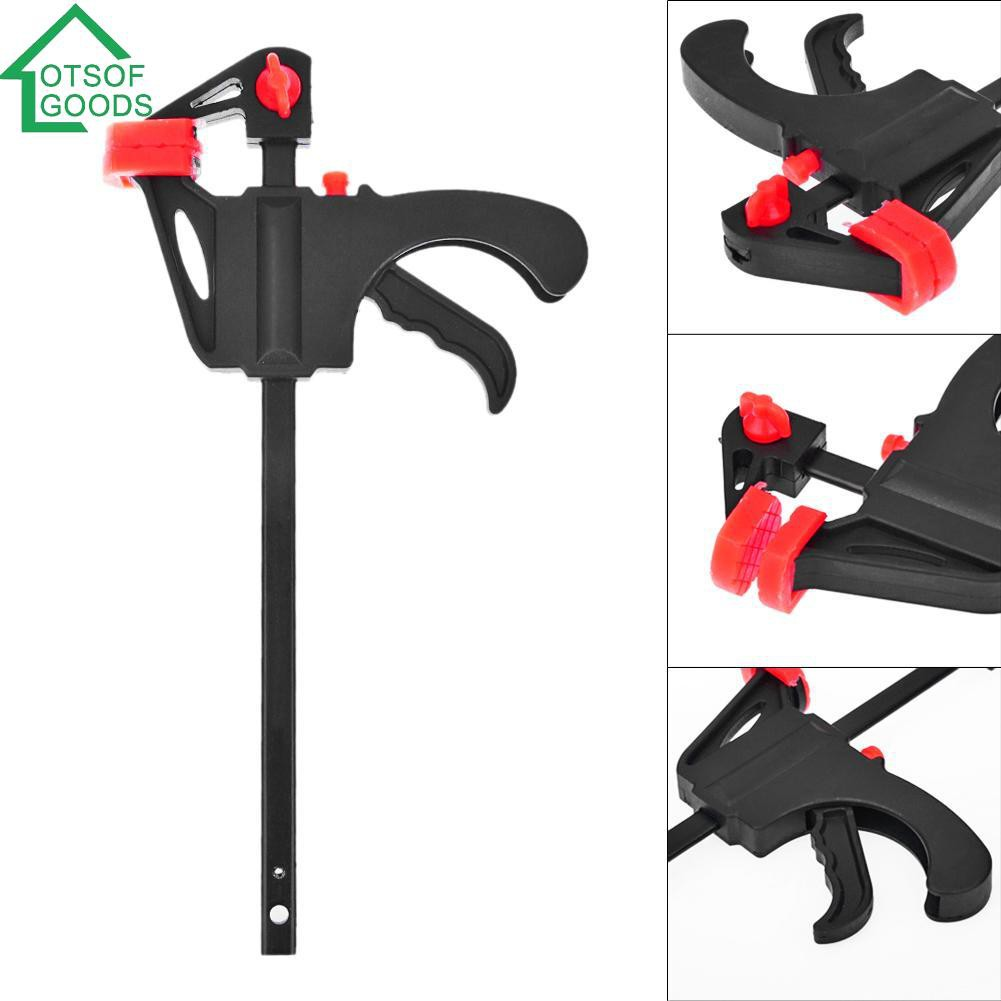 "4/"" 100mm One Hand Speed Clamp Ratchet Vice Woodwork Carpenter DIY Woodworking"