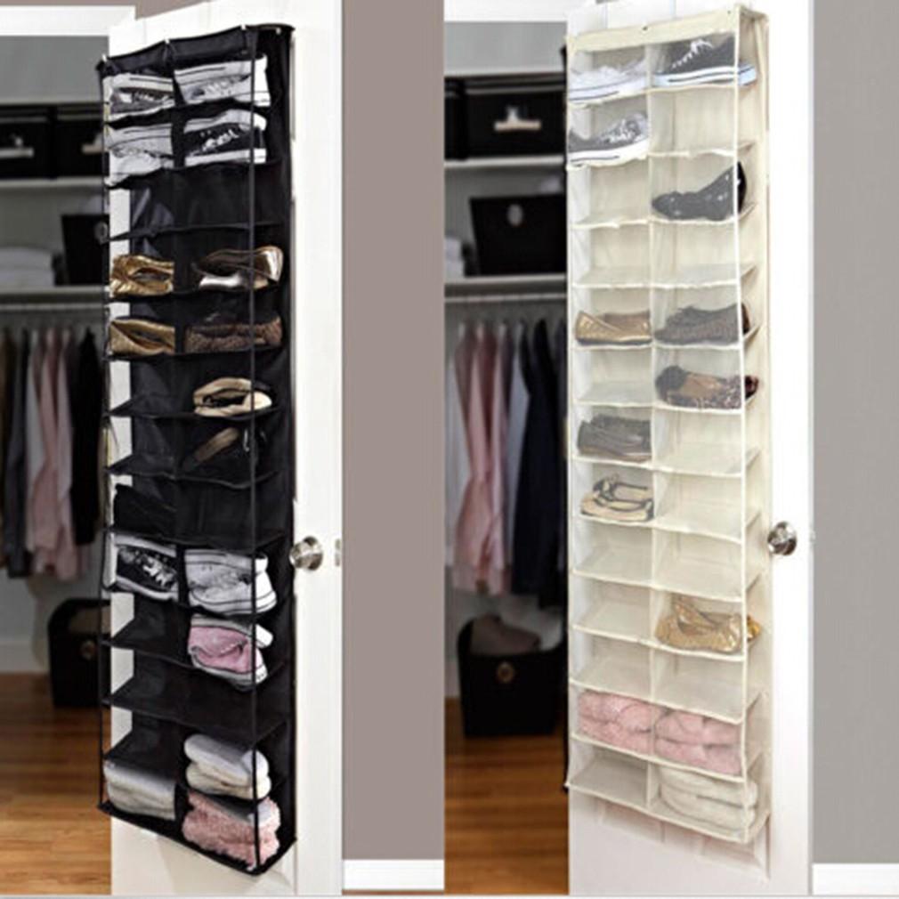Shoe Rack Storage Organizer Holder Hanging Door Closet Shopee Philippines