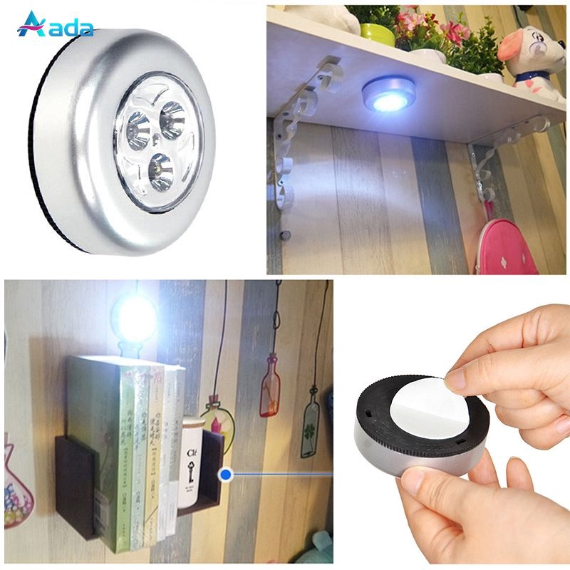Ada Mini Wireless Infrared Ceiling Night Light Lamp Diy Night Lights Lamp