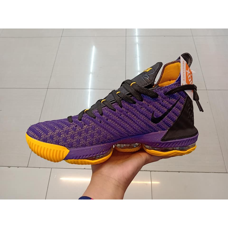 low priced 90c19 43f3c LEBRON 16 LAKERS COLOR