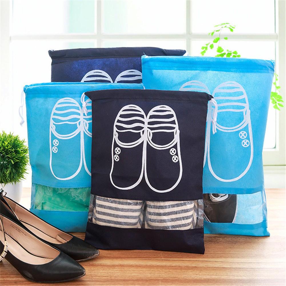 baf46f95cfd0 Portable Travel Shoe Bags Shoe Organizer Space Saving Storage Bags shoes  storage bag