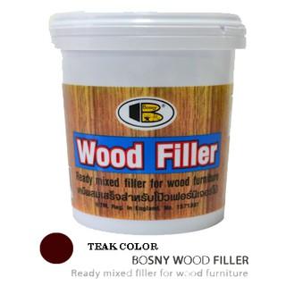 Bosny Wood Filler Color Teak