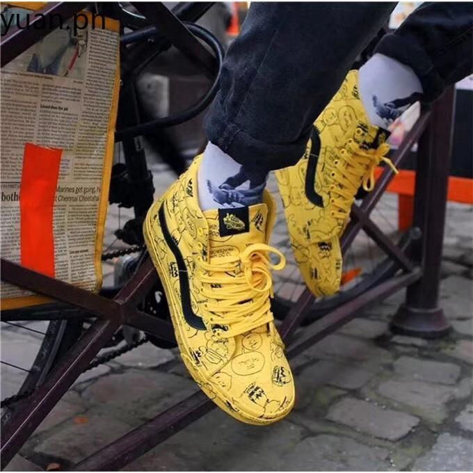 vans x peanuts sk8-hi reissue shoes