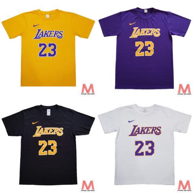 separation shoes 97a22 d55b8 Los Angeles Lakers Lebron James #23 NBA T-Shirt
