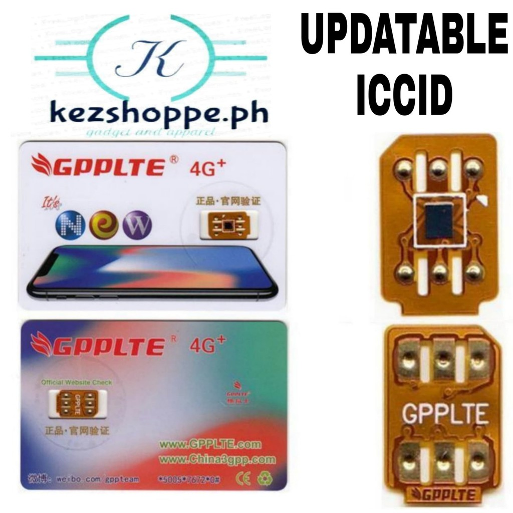 GPP LTE CHIP ICCID UPDATABLE 2019 SALE!