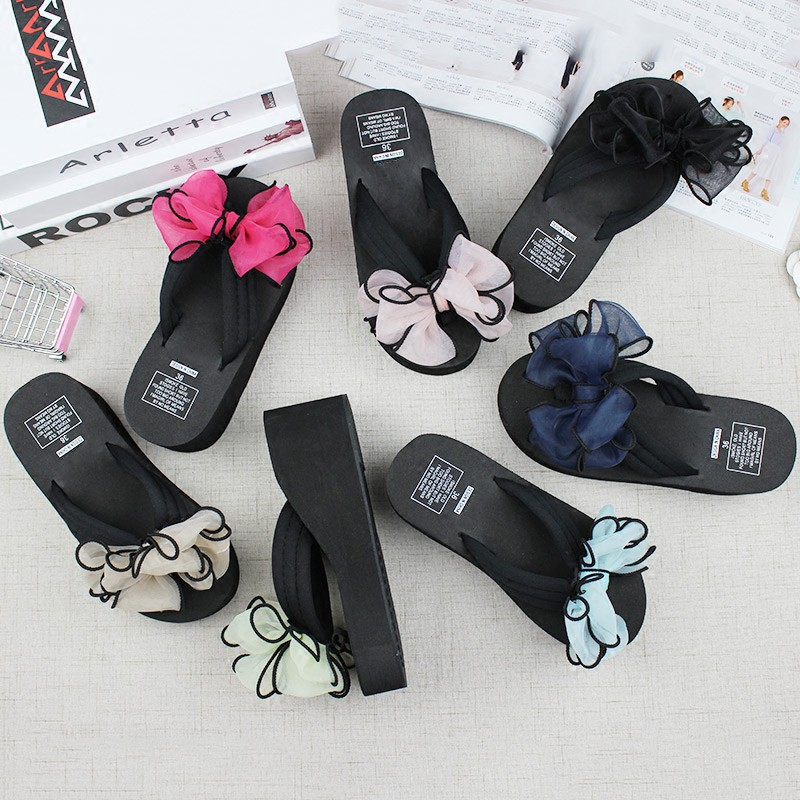 Flip Flops Men's Shoes Careful Slippers Mens Summer New Flip Flops Mens Non-slip Rubber Korean Version Of The Tide Slippers Students Beach Clip Feet Attractive And Durable