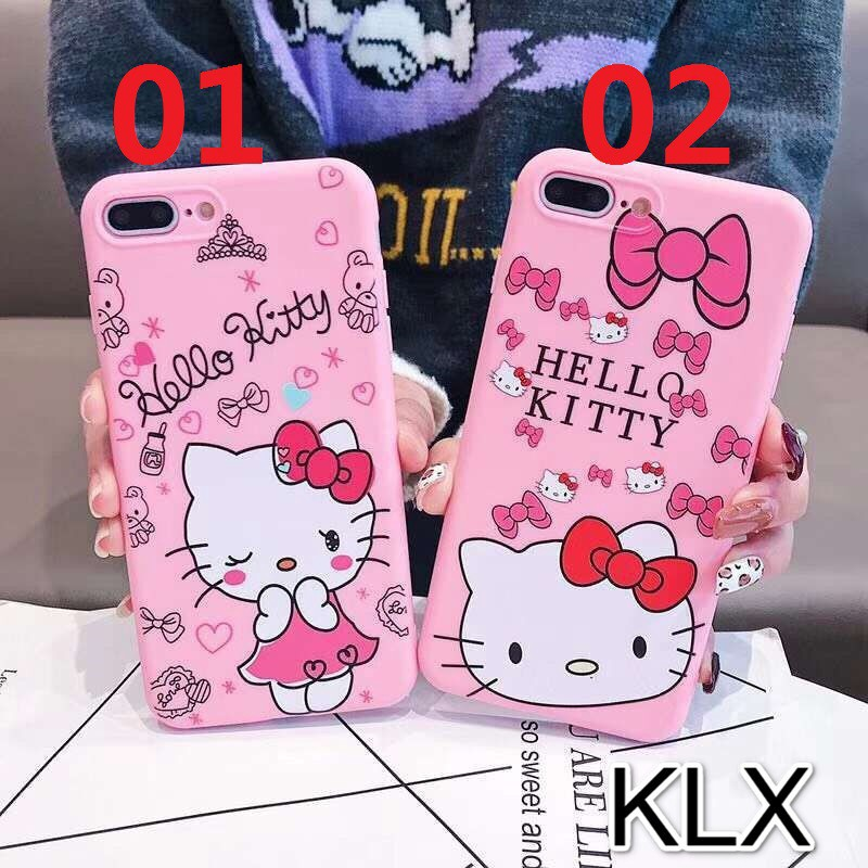 5e7201458 Iphone 6 6S 7 8 Plus X/XS XR Xs Max Hello Kitty Soft Cover | Shopee ...