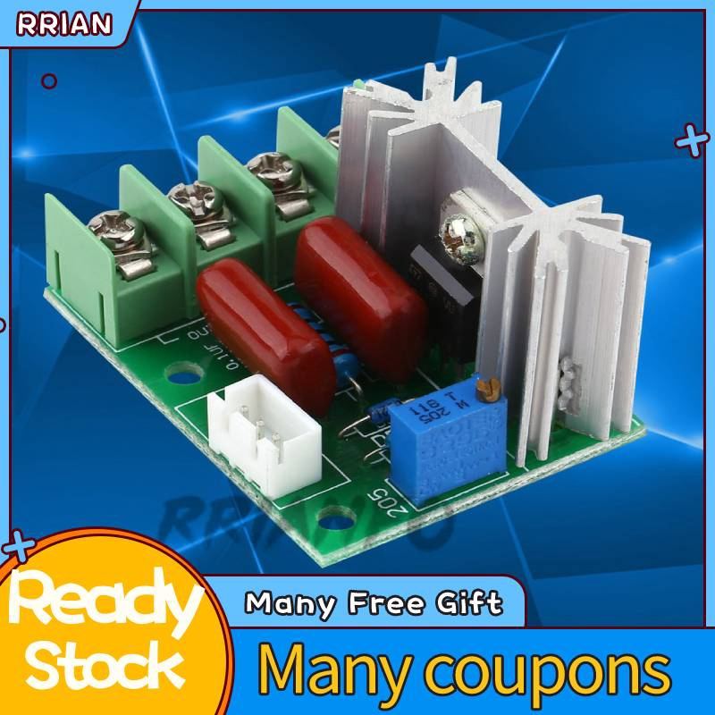 220V 2000W Electric Voltage Regulator Speed Dimmer lighting Temperature Control