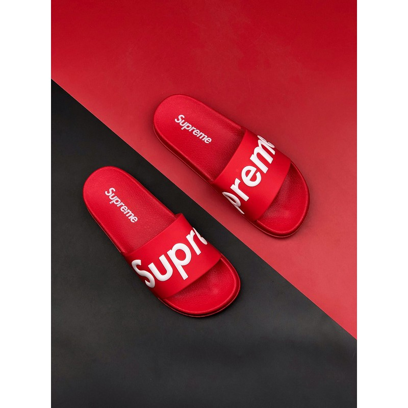 Clothing, Shoes & Accessories 2019 Real 14SS SUPREME SLIDES