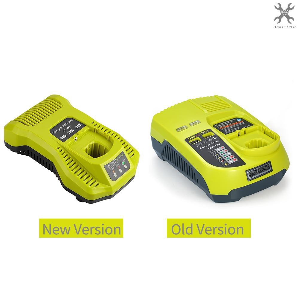 In Stock Dual Chemistry Intelliport Charger For All Ryobi 12v 18v One Lithium Battery Nicad Univ Shopee Philippines