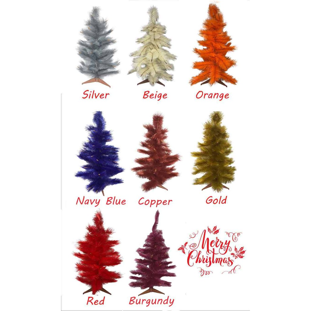 3ft Height Colored Christmas Tree Shopee Philippines