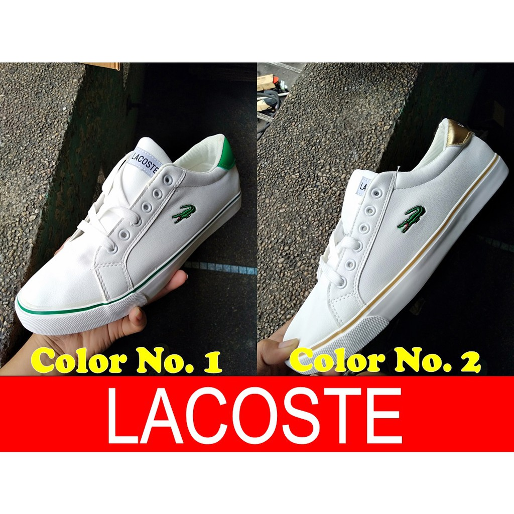 Shoes For Sneaker Leather New Lacoste Men ulTc35FK1J