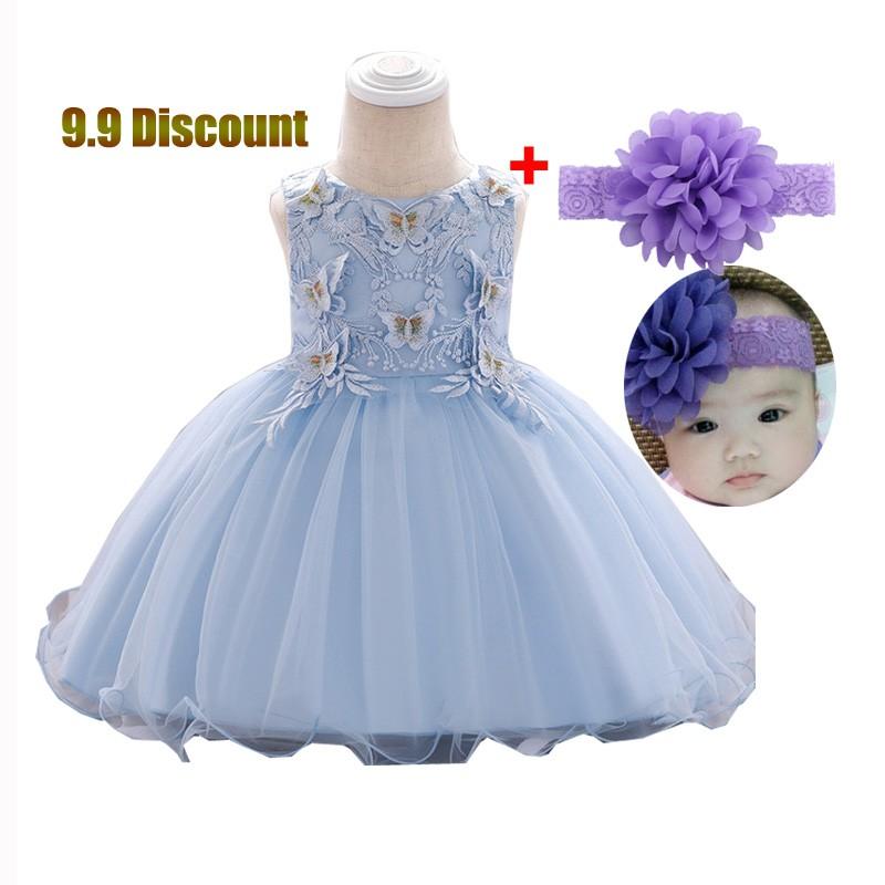 BOBORA Baby Girl One-Piece Long Sleeve Bowknot Princess Mini Dresses Cotton for 0-24M