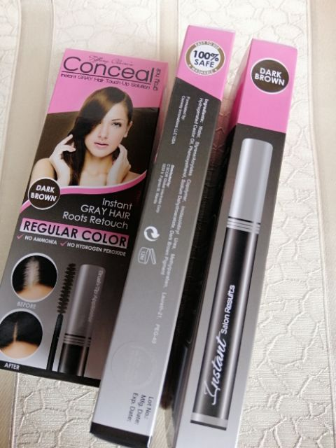 Conceal instant GRAY Hair TOUCH-UP solution | Shopee Philippines