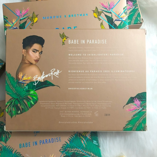 AUTHENTIC] MORPHE Bretman Babe In Paradise Highlighter