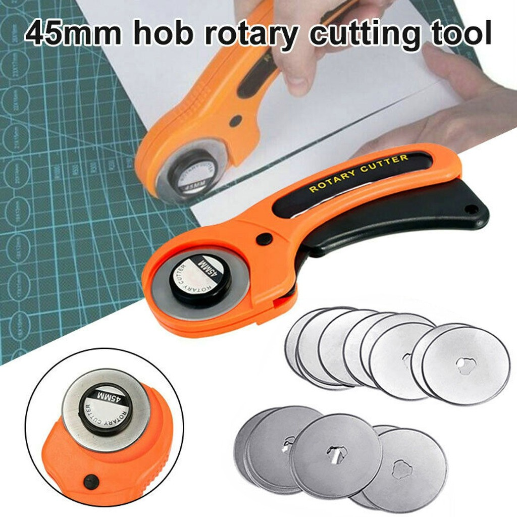 45mm Cutter Quilting Premium Sewing Quilting Fabric Cutting Craft Tool