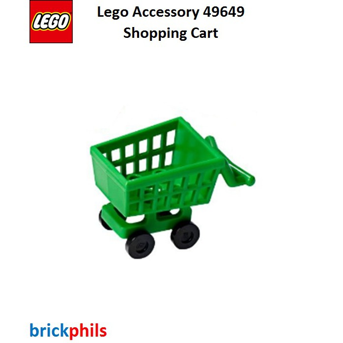 Lego Accessory 49649 Shopping Cart Shopee Philippines