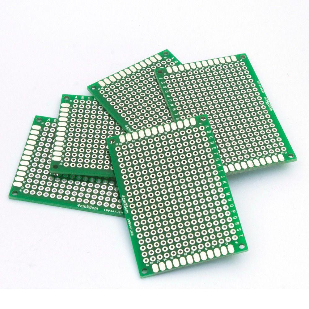 5pcs Printed Prototyping Strip Board Circuit Pcb Vero Shopee Kit Panel Breadboard Philippines