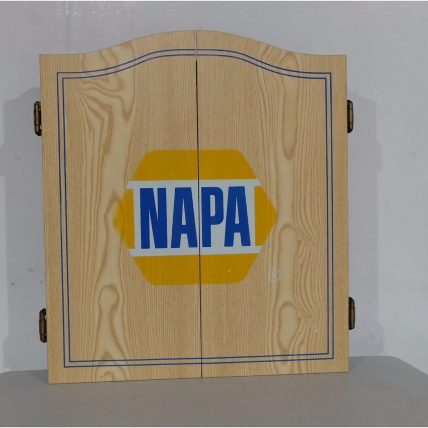 Napa Dartboard Cabinet Only Dartboard Not Included Shopee
